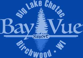 Bay-Vue Resort   Birchwood, Wisconsin Cabin Rentals on Big